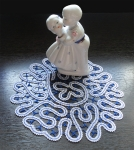 Дизайн для машинной вышивки «Салфетка»
