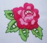 Машинная вышивка «Розочка»