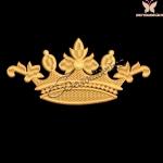 """""""Корона"""" дизайн для вышивания на халатах бесплатно"""
