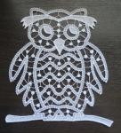 Кружевная сова - файл для вышивания