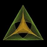 """Геометрический орнамент """"3D Треугольник"""""""