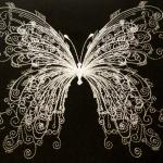 """""""Бабочка"""" - программа для вышивальной машины"""