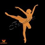 """""""Балерина"""" бесплатный дизайн машинной вышивки"""