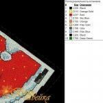 """игрушка на елку """"дед мороз"""" интернет-магазин дизайнов машинной вышивки Мария Казачок"""