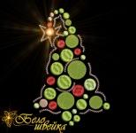 """""""новогодняя ёлка"""" компьютерная вышивка интернет-магазин дизайнов машинной вышивки Ната Белошвейка"""