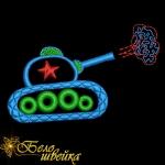 """дизайн машинной вышивки """"танк"""" интернет-магазин дизайнов машинной вышивки Ната Белошвейка"""