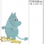 """""""муми-троль"""" дизайн компьютерной вышивки интернет-магазин дизайнов машинной вышивки Ната Белошвейка"""