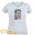 "Вышивка для футболок ""Сальвадор Дали"""