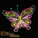 """""""Бабочка"""" красивый дизайн машинной вышивки"""
