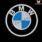 Логотип BMW - дизайн машинной вышивки