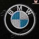 логотип bmw - дизайн машинной вышивки интернет-магазин дизайнов машинной вышивки Ната Белошвейка
