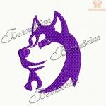 """""""Собака - символ 2018 года"""" дизайн машинной вышивки бесплатно"""