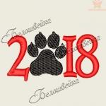 2018 - дизайн машинной вышивки БЕСПЛАТНО