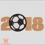 """""""Футбол 2018"""" программа для вышивальных машин"""