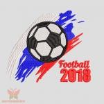 """""""Football 2018"""" дизайн машинной вышивки"""
