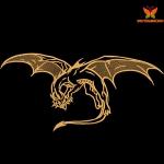 """""""Дракон"""" дизайн машинной вышивки"""