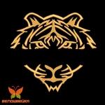 именной тигр - дизайн машинной вышивки интернет-магазин дизайнов машинной вышивки Ната Белошвейка