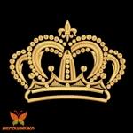 Дизайн короны без протяжек и обрезок
