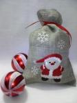 """""""дедушка мороз"""" новогодний дизайн для вышивальной машины интернет-магазин дизайнов машинной вышивки Ната Белошвейка"""