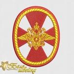Дизайн шеврона «Внутренние войска МВД РФ»