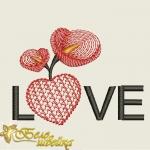"""Дизайн """"LOVE"""" ко дню влюбленных"""