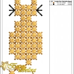 """дизайн крестиком """"котик 01"""" интернет-магазин дизайнов машинной вышивки Ната Белошвейка"""