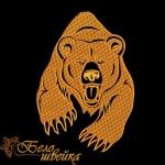 """""""Медведь"""" дизайн для вышивания"""