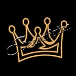 Корона 37 дизайн машинной вышивки на халатах