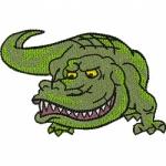 """Файл для вышивания """"Крокодил"""""""